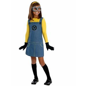 3/20 Rubie's Despicable Me Minion Girl's Costume